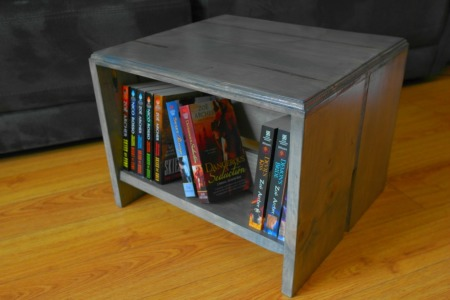 how to build a bookshelf footstool, painted furniture, storage ideas, woodworking projects