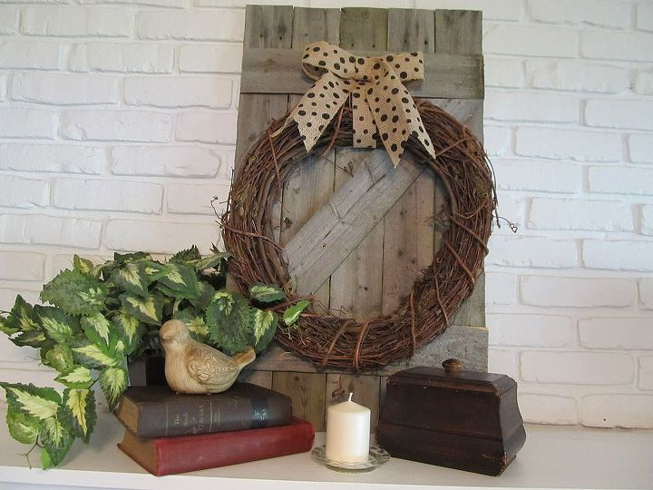 Repurposed Rustic Privacy Fence Home Decor Repurposing Upcycling