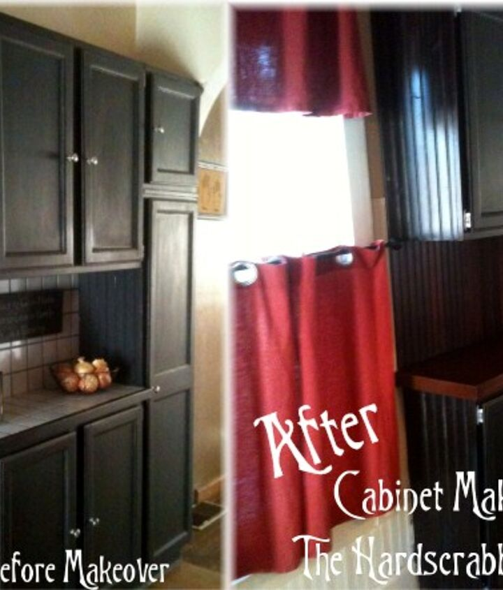 Before and After - This makeover didn't cost us anything.  Totally FREE