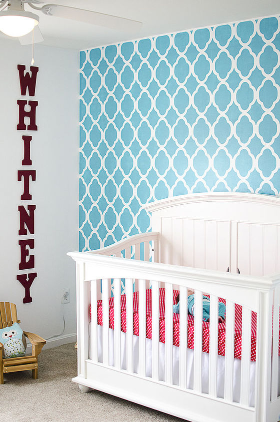 giddy with stenciled girls rooms, bedroom ideas, painting
