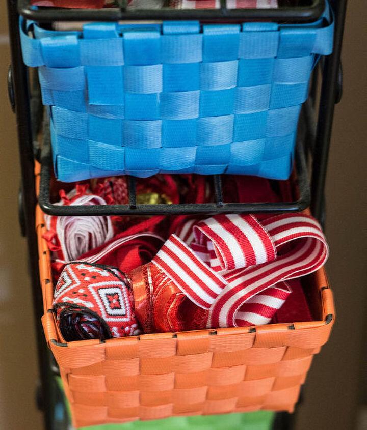 ribbon storage, craft rooms, organizing, storage ideas