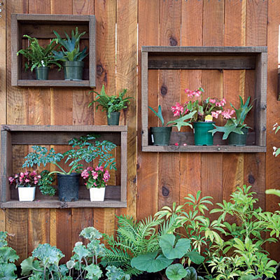 beautifying fences, fences, gardening, outdoor living