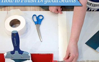 How to Finish Drywall Seams