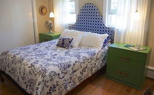 preppy cottage bedroom reveal, bedroom ideas, home decor