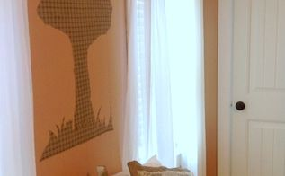 diy iron on fabric wall decals, home decor, wall decor