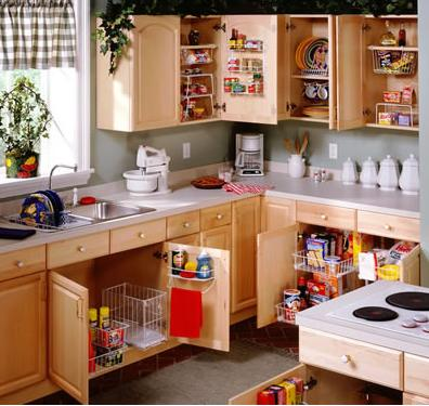 "Read 5 Ways To Simplify Your Kitchen: http://bit.ly/vB96aK When you place objects according to their ""point of main use,"" really think about what you do in the kitchen instead of blindly following convention"