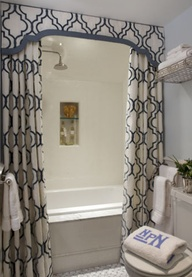 bathroom shower curtain idea! | Hometalk