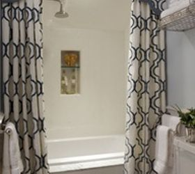 Superb Bathroom Shower Curtain Idea, Bathroom Ideas, Home Decor, Small Bathroom  Ideas Photo