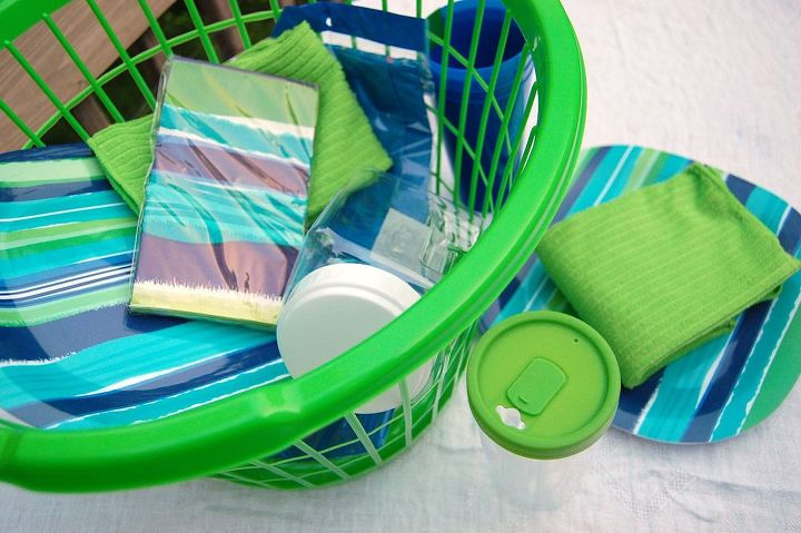 picnic on the go, crafts, outdoor living