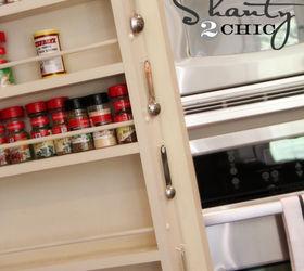 Diy Pantry Door Spice Rack, Cleaning Tips, Closet, Storage Ideas, Kitchen  Organization