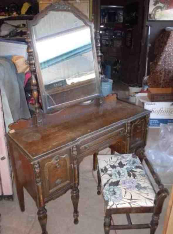 Before After Antique Vanity Hometalk