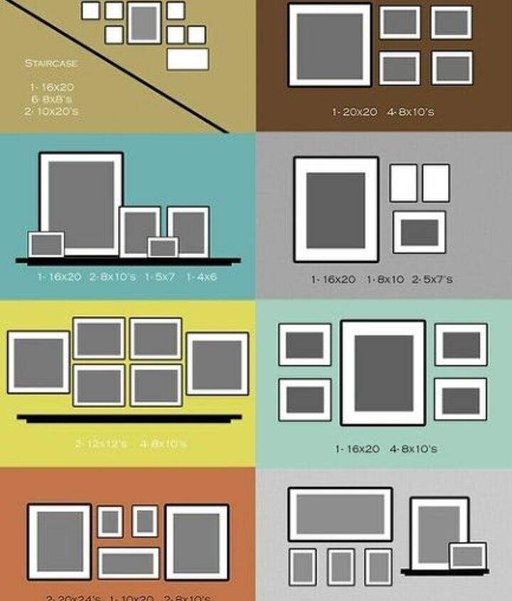 Gallery Style Photo Wall Layout Ideas