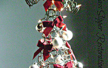 diy christmas tree made from old rusty bedsprings, christmas decorations, repurposing upcycling, seasonal holiday decor