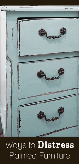ways to distress painted furniture, painted furniture, repurposing upcycling