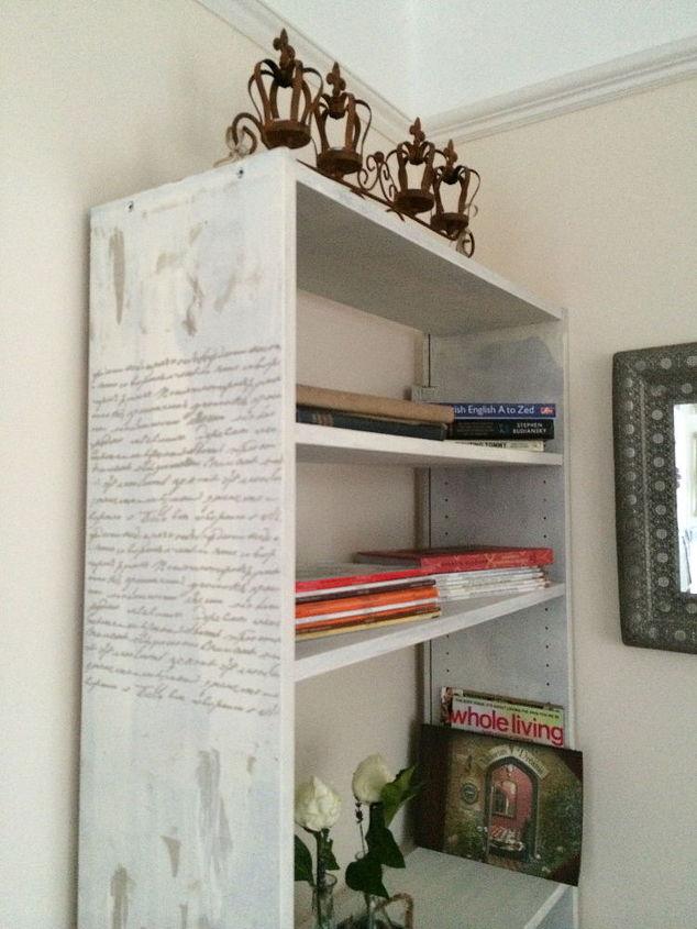 bookshelf transformation, painted furniture, storage ideas