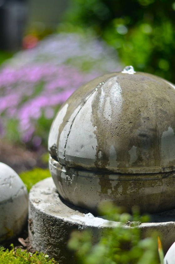 diy garden fountain, crafts, flowers, gardening, ponds water features