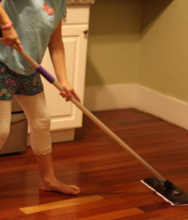 Use a Swiffer daily to remove dust