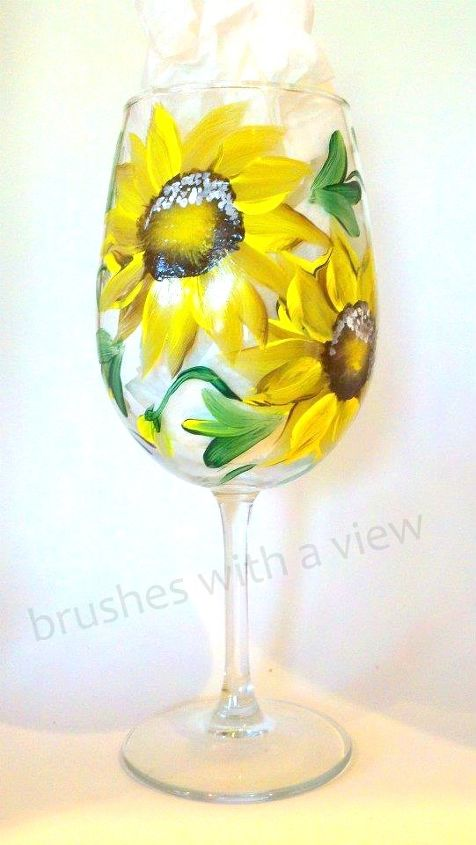 Sunflowers by Brushes with A View