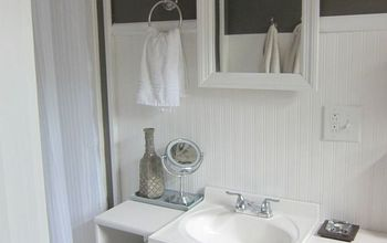 bathroom vanity, extra side storage