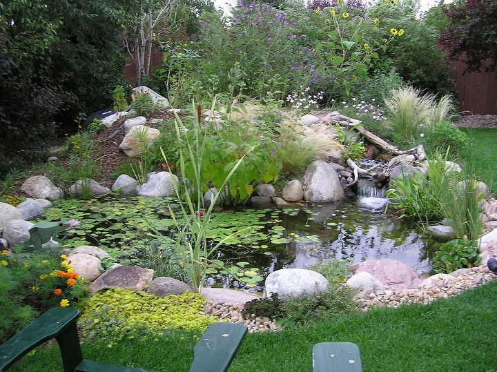 After!  What a transformation from a plain backyard into a beautiful oasis!