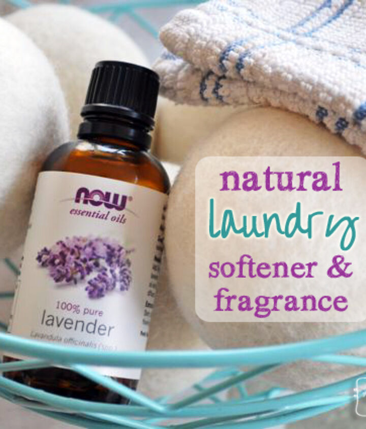 Method for natural laundry fragrance and softener using Lavender Essential Oil