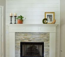 fireplace makeover reveal, fireplaces mantels, home decor, living room ideas