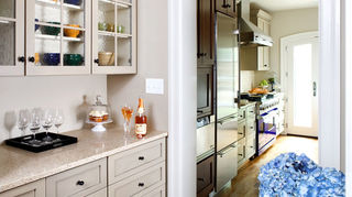 q we have all solid wood kitchen cabinets maybe mahogony not sure need to replace, kitchen cabinets, View from butler s pantry toward kitchen