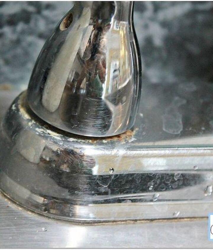 Filthy faucet.