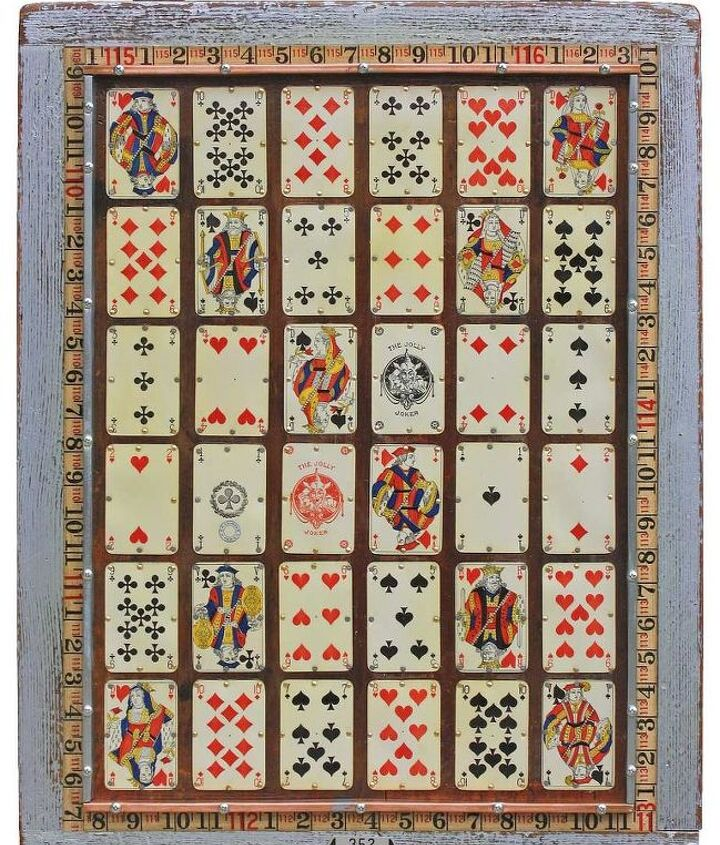 Vintage Playing Cards Original Wall Art by GadgetSponge.com