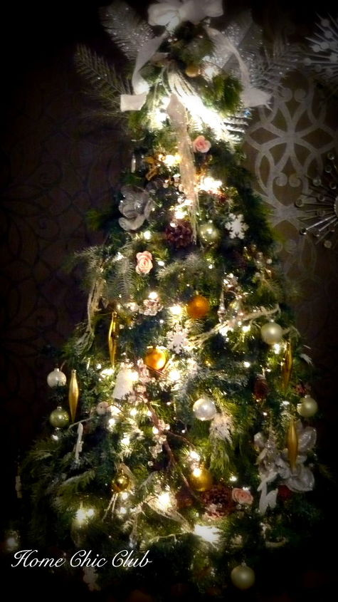 winter wonderland christmas tree seasonal holiday d cor