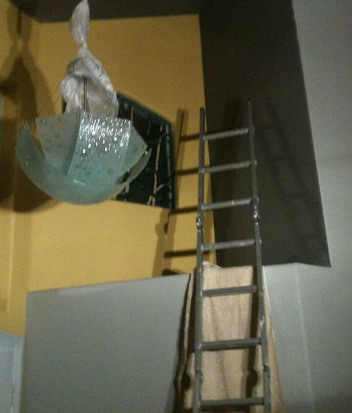 New Light fixture and 3-color paint scheme