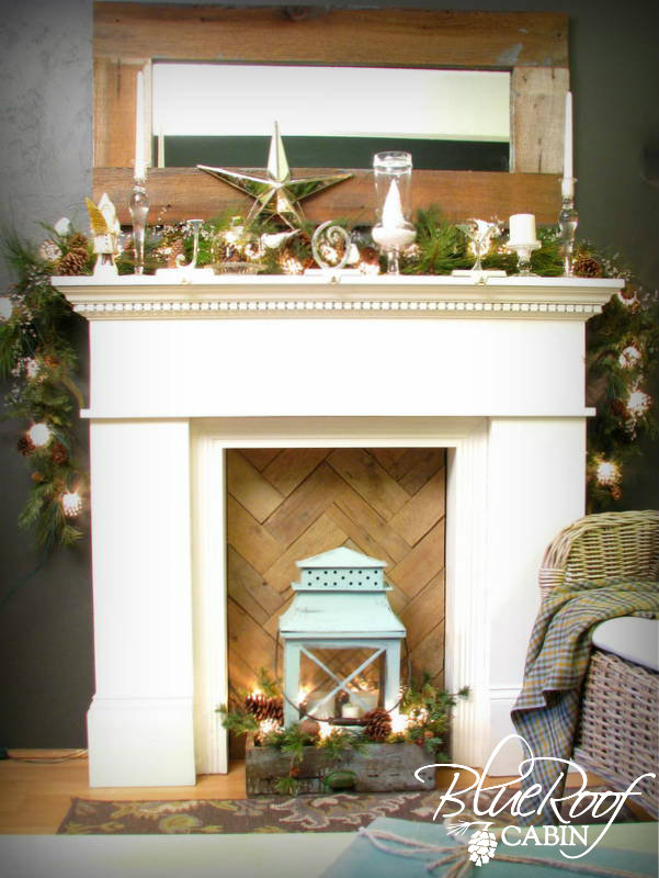 Faux Fireplace Pallet Wood Quot Fire Box Quot Hometalk
