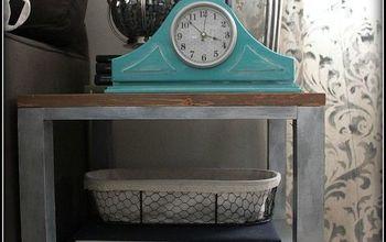Faux Mercury Glass Table Lamps