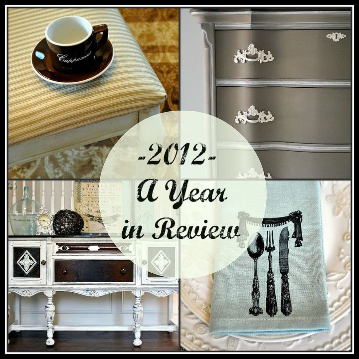 favorite projects of 2012, home decor, painted furniture