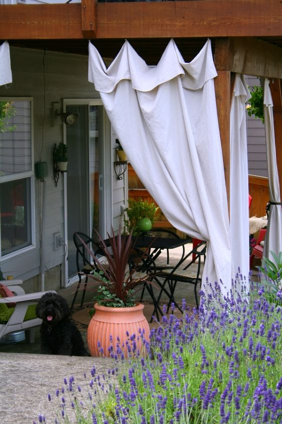 Drop Cloth Outdoor Curtains Hometalk