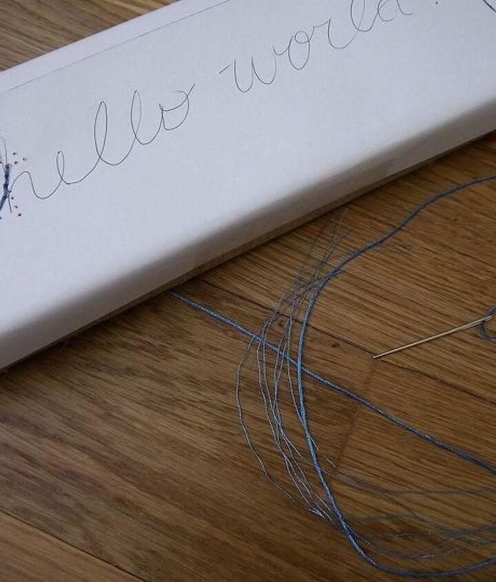 Make your paper stencil!