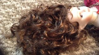 q how to fix a porcelain doll s hair, crafts