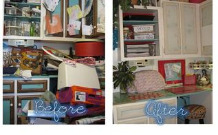 purge re org and re style your craft room if i can anyone can, cleaning tips, craft rooms, home decor