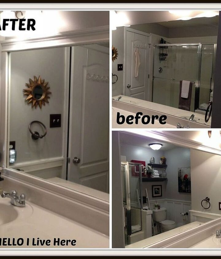 Before and After - stop past our blog to see more photos!