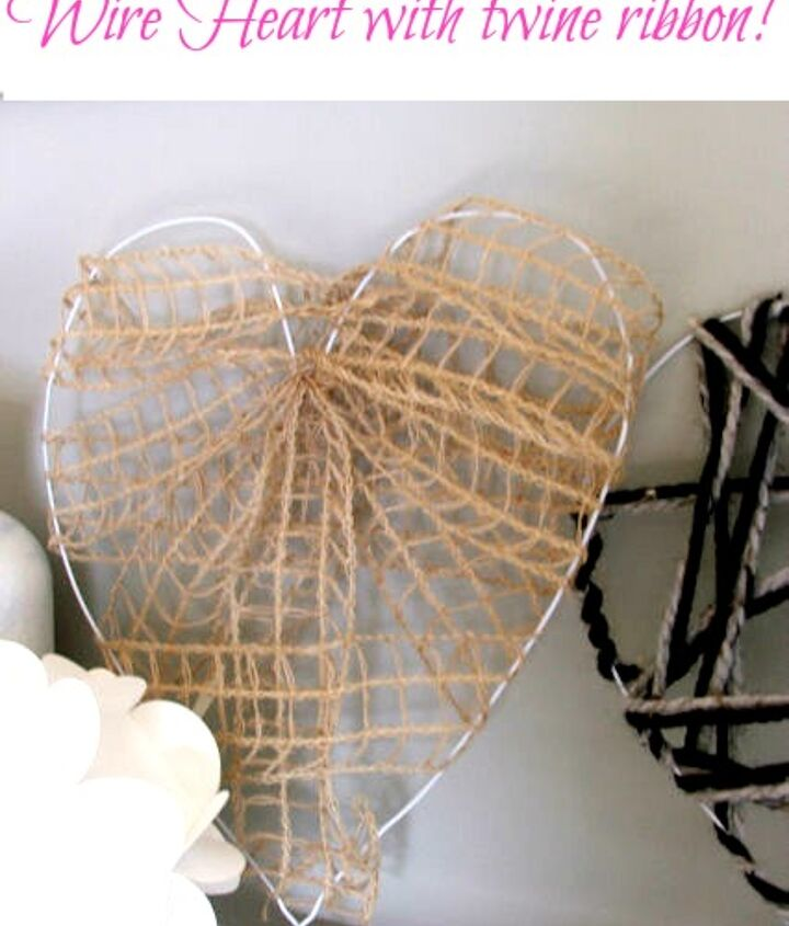 wire valentines hearts, crafts, seasonal holiday decor, valentines day ideas