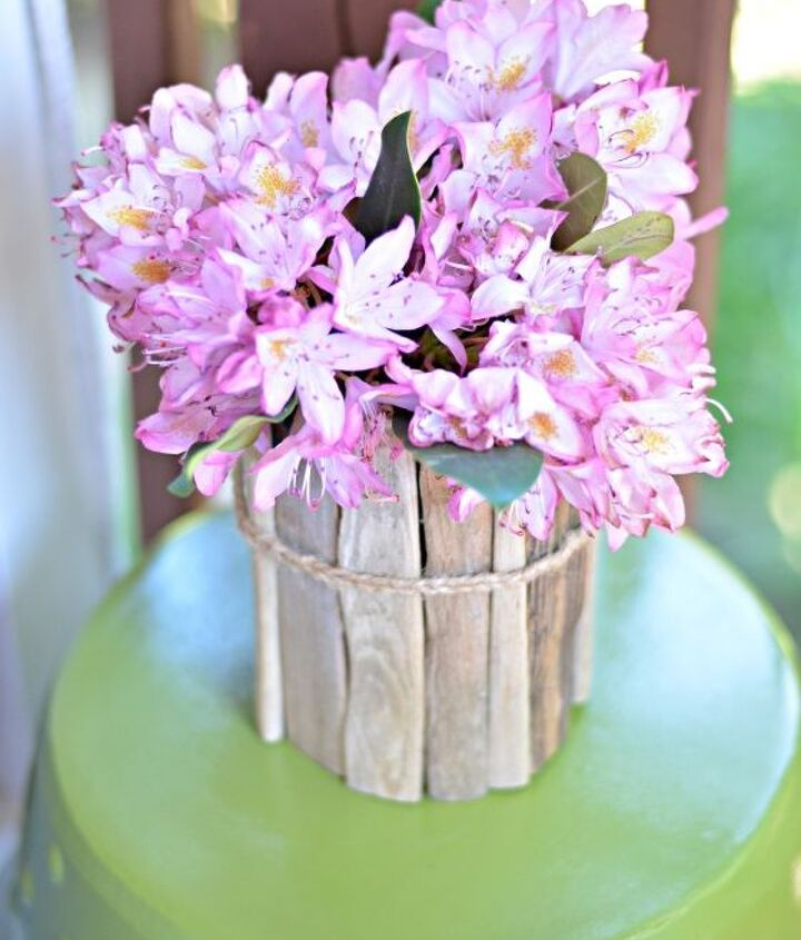 diy coastal decor how to make a driftwood vase, crafts, home decor