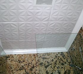 Decorative Ceiling Tiles Why Didn T I Think If This, Home Decor, Kitchen  Backsplash,