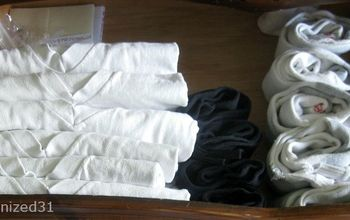 Folding and Organizing Clothes Drawer to Make More Room