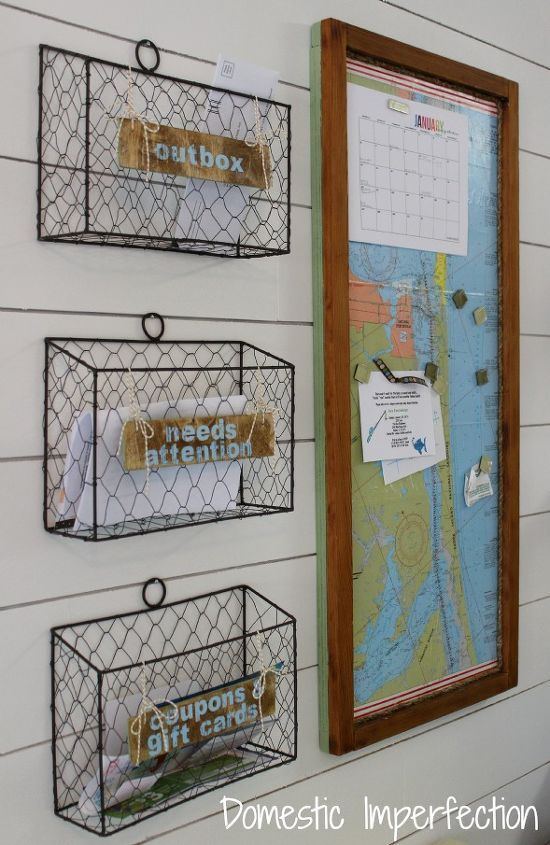 Kitchen Command Center/Mail Sorter | Hometalk