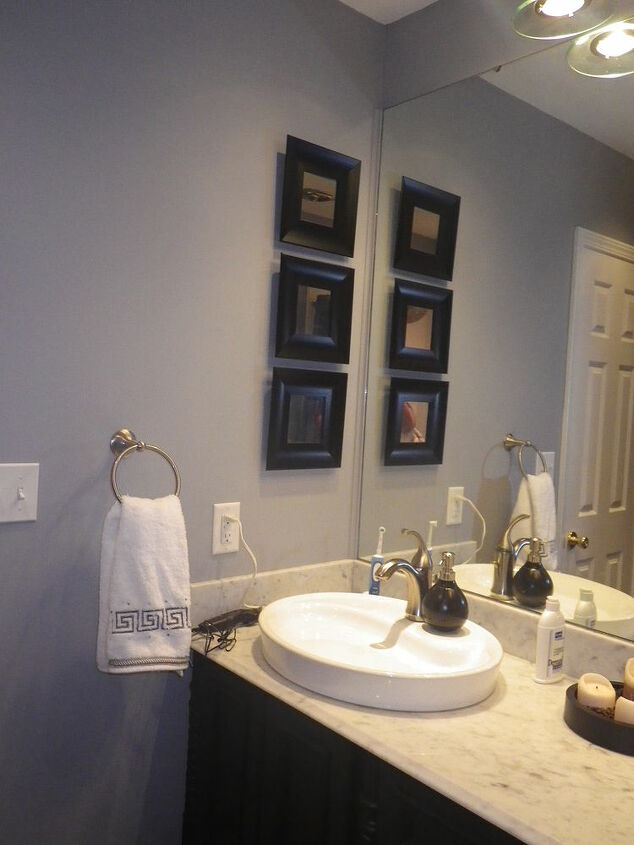 Another view.  Reuse the mirror, just cut it down.