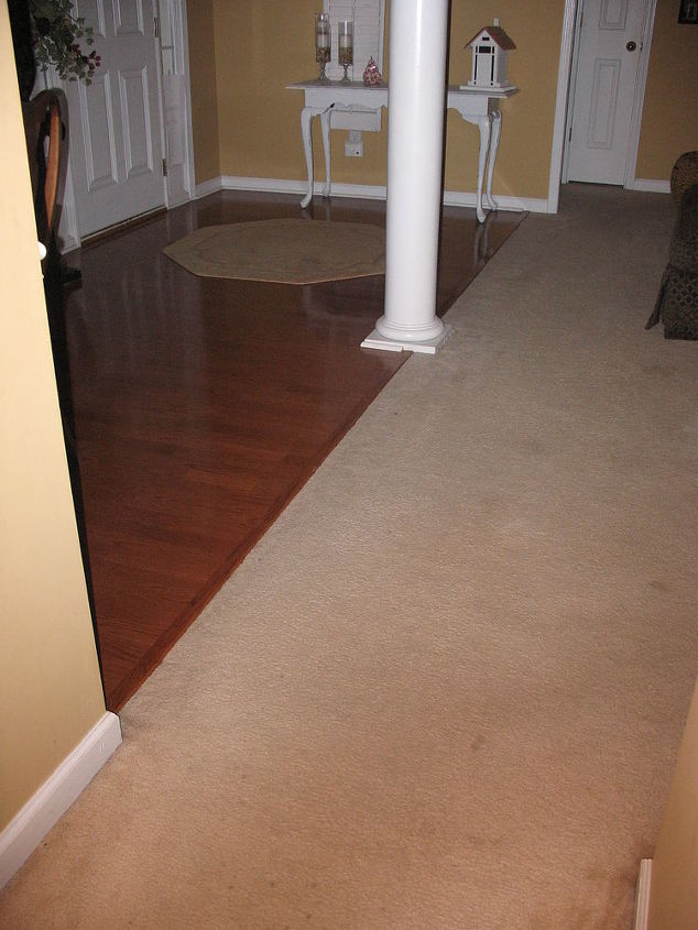 Q Can Two Diffe Type Of Hardwood Floors Close Together Still Work Flooring