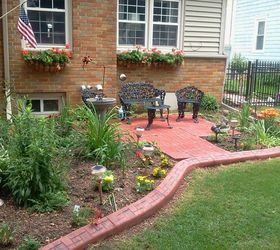 My Large Landscape Project, Flowers, Gardening, Landscape, I Installed A  Patio In
