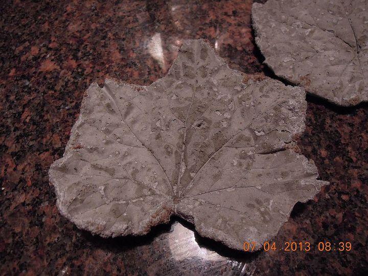 Smaller leaf I made