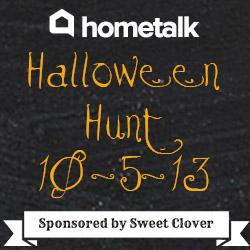 hometalk halloween hunt sponsored by sweet clover barn