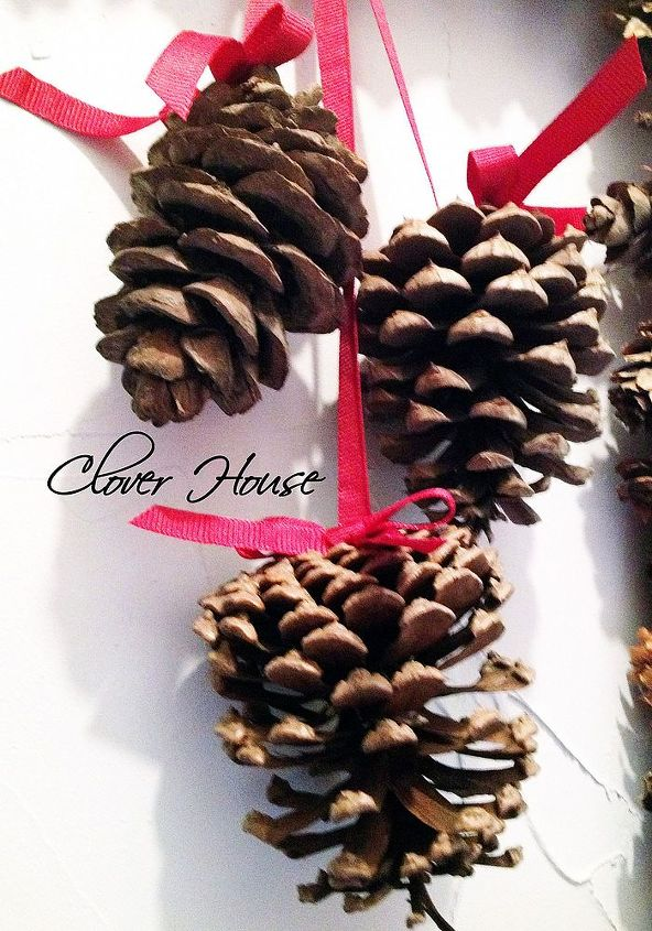 Only one new pine cone in the whole thing...see our blog to find out which one it is!